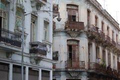 Vivienda de la ciudad de Havanna Fotos de archivo libres de regalías