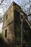 vivienda de piedra hecha para los marineros Foto de archivo libre de regalías