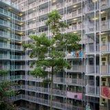 Vivienda de protección oficial Hong Kong fotografía de archivo libre de regalías