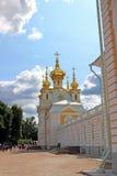 Vivienda eclesiástica del palacio en St Petersburg foto de archivo libre de regalías