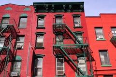 Vivienda en Manhattan Fotografía de archivo