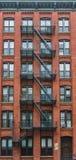 Vivienda en Manhattan, Nueva York Imágenes de archivo libres de regalías