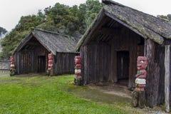 Vivienda nativa maorí Imagen de archivo libre de regalías