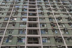 Viviendas de Hong-Kong Imagenes de archivo