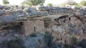 Viviendas del pozo de Montezumas Imagenes de archivo