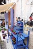 Viviendo en el pueblo de montaña idílico del santo-Véran, Francia Fotos de archivo libres de regalías