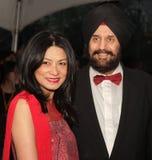 Vivienne Tam e Satjiv S Chahil Immagine Stock Libera da Diritti