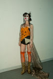 Vivienne Westwood shanghai show backstage Stock Photography
