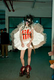 Vivienne Westwood shanghai show backstage royalty free stock images