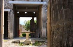 Vivir-Ii-Pompeya-Italia romana Imagen de archivo libre de regalías