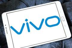 Vivo-het embleem van het smartphonebedrijf Royalty-vrije Stock Afbeeldingen