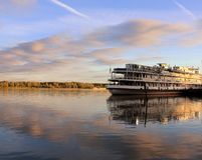 Vivo sul fiume più bello nel mondo del Volga