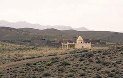 Vivre au désert Photo libre de droits