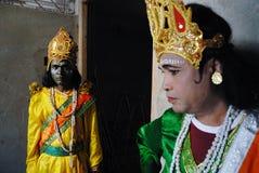 Vivre avec la couleur et le costume religieux Photographie stock libre de droits