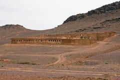 Vivre sur le désert Images stock