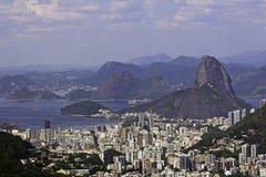 Viw do naco do açúcar em Rio de Janeiro Fotografia de Stock Royalty Free