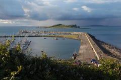 Viw do porto de Howth imagens de stock royalty free