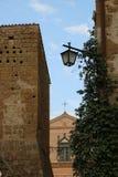 Viwes agradables del monumento histórico en Roma Imágenes de archivo libres de regalías