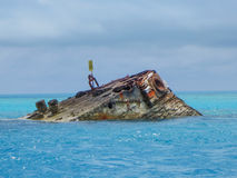 Vixen del HMS de la costa de Bermudas Imagenes de archivo