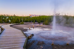 Vixen Geyser Royalty Free Stock Photos