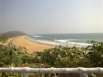 Vizag beach stock images