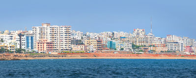 Vizag city ,India Royalty Free Stock Photography