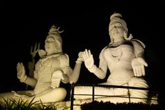 Vizag de la estatua del siva de dios imagen de archivo