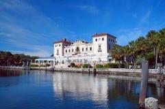 Vizcaya βιλών άποψη μουσείων Στοκ Εικόνες
