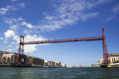 Vizcaya γέφυρα Στοκ Εικόνες