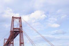 Vizcaya-Brücke in Portugalete, Spanien lizenzfreies stockfoto