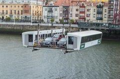 The Vizcaya Bridge in Portugalete Royalty Free Stock Image