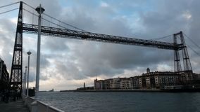 Vizcaya bridge Stock Photography
