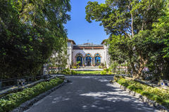 Vizcaya, Floridas grandest residence under blue sky Royalty Free Stock Image