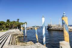 Vizcaya, Floridas grandest residence under blue sky Stock Images