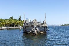 Vizcaya, Floridas grandest residence under blue sky Royalty Free Stock Images