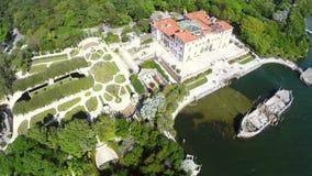 Vizcaya-Gärten Miami stock video