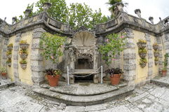 Vizcaya gardens Royalty Free Stock Photos