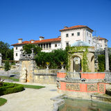 Vizcaya in Miami, USA. Vizcaya, Florida's grandest residence, once belongs to millionaire industrialist James Deering, is in downtown Miami, Florida, USA Stock Photo