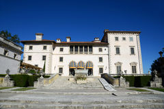 Vizcaya in Miami, USA. Vizcaya, Florida's grandest residence, once belongs to millionaire industrialist James Deering, is in downtown Miami, Florida, USA Royalty Free Stock Photography