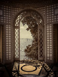 Vizcaya Museum and Gardens. An Italian Renaissance-style villa and formal gardens built in 1916 as the winter residence of industrialist James Deering Stock Photography