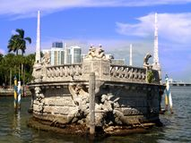 Vizcaya museum and gardens stock images