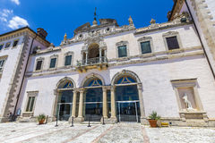 Vizcaya Museum in Miami. Under blue sky Royalty Free Stock Images
