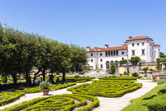 Vizcaya Museum in Miami. Under blue sky Stock Photo