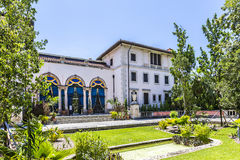 Vizcaya Museum in Miami. Under blue sky Royalty Free Stock Photo