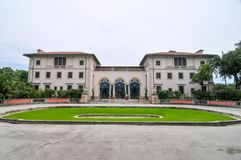 Vizcaya Museum in Miami. Villa Vizcaya Museum and Gardens Brickell Miami completed circa 1923 Stock Photo