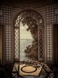 Vizcaya museum och trädgårdar Arkivbild