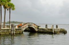 Vizcaya ogródy i muzeum Zdjęcia Royalty Free