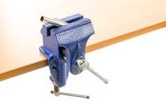 Vizeklammer mit Werkstück Lizenzfreies Stockfoto