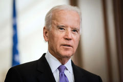 Vizepräsident von USA Joe Biden Stockfotos