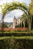 Vizille, Isere, Frankreich, am 30. September 2018: Chateau de Vizille ist lizenzfreie stockfotos